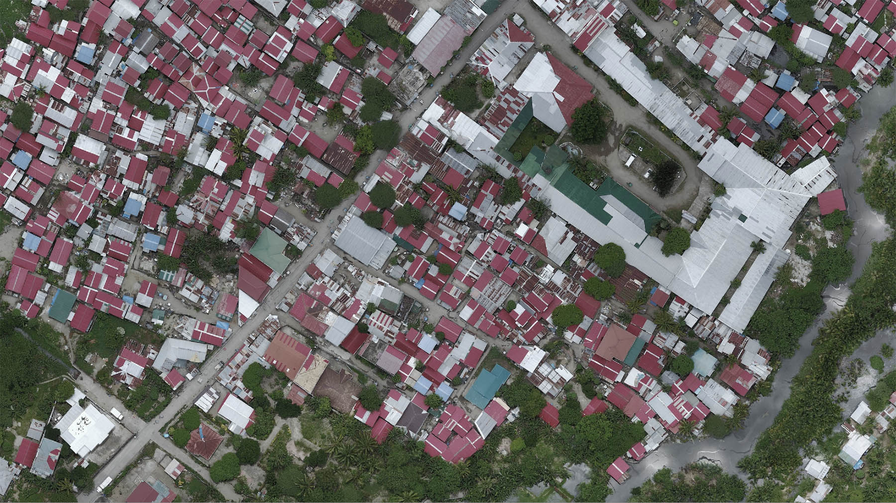 Detailed drone and street-level imagery for mapping in the Philippines