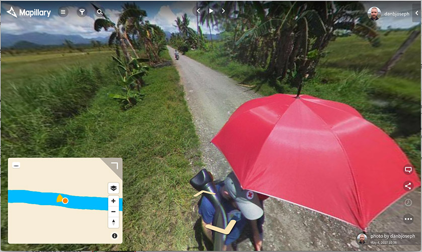 collecting mapillary