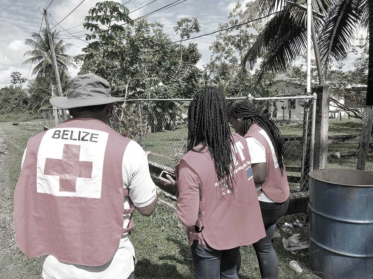 Mapping for disaster risk reduction in Belize