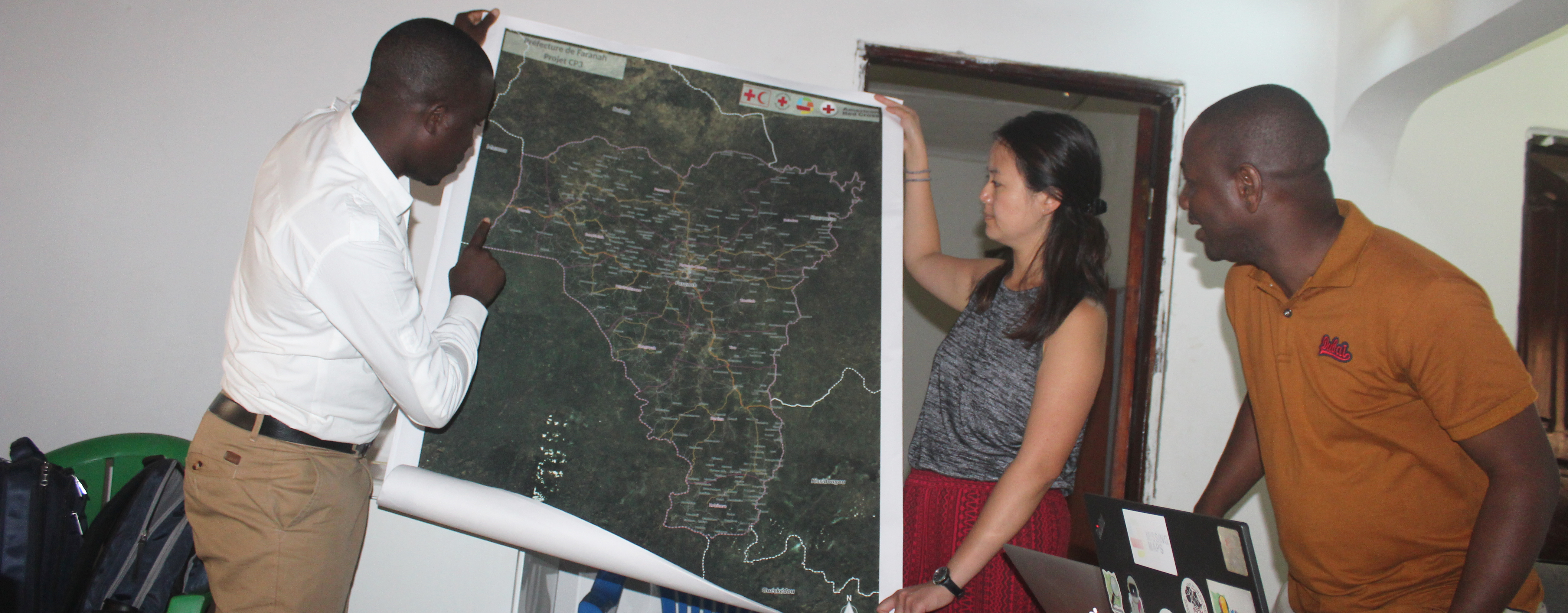 'Leveraging Missing Maps for The Community Epidemic and Pandemic Preparedness Program (CP3) in Guinea' – A Year of Blogs – April 2020